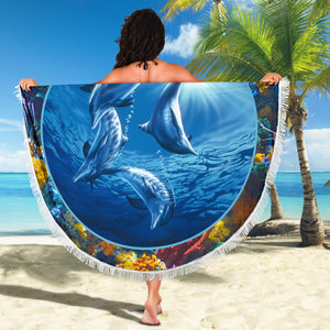 Beach Blanket - Dolphin Swing