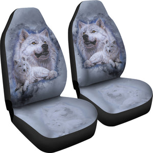 Car Seat Covers Wolf - Noble Intensity