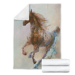fleece blanket horse