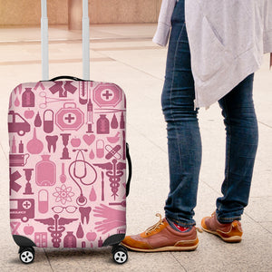 NURSE PINK TOOLS LUGGAGE NURSES NURSING