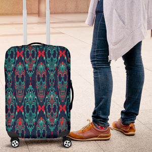NP Skull Luggage Cover