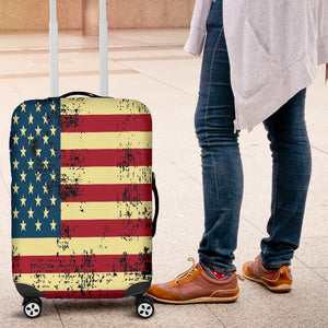NP American Flag Luggage Cover