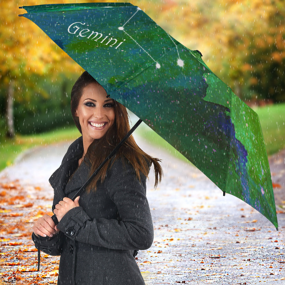 Gemini constellation gift umbrella
