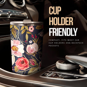 cup holder friendly tumbler,