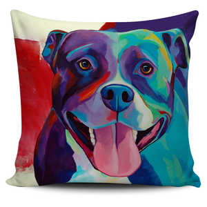 Bull dog pillow cover