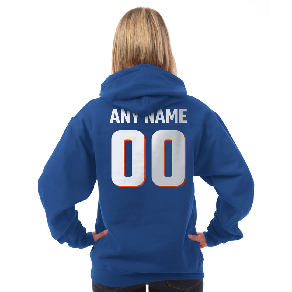 Florida Hoodie - My Team Rocks Blue
