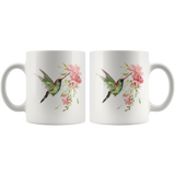Hummingbird Unique Coffee Mug