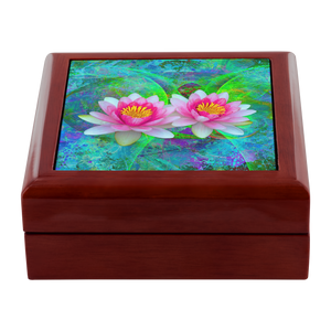 Lotus Flower Jewelry Box