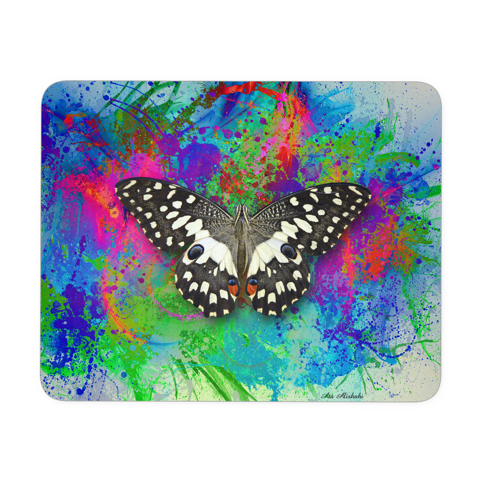 Mouse pad butterfly Swallowtail