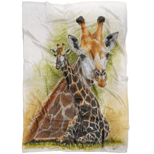 Giraffe Fleece Blanket TL