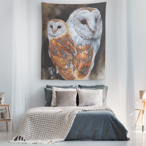 Wall Tapestry Owls