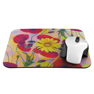 Poppies Sunflower Mousepad