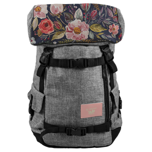 floral backpack for  woman, traveling, school, work, hiking, best backpack 20109