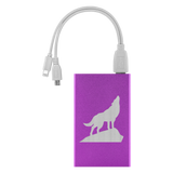 power bank charger purple algarve online shop