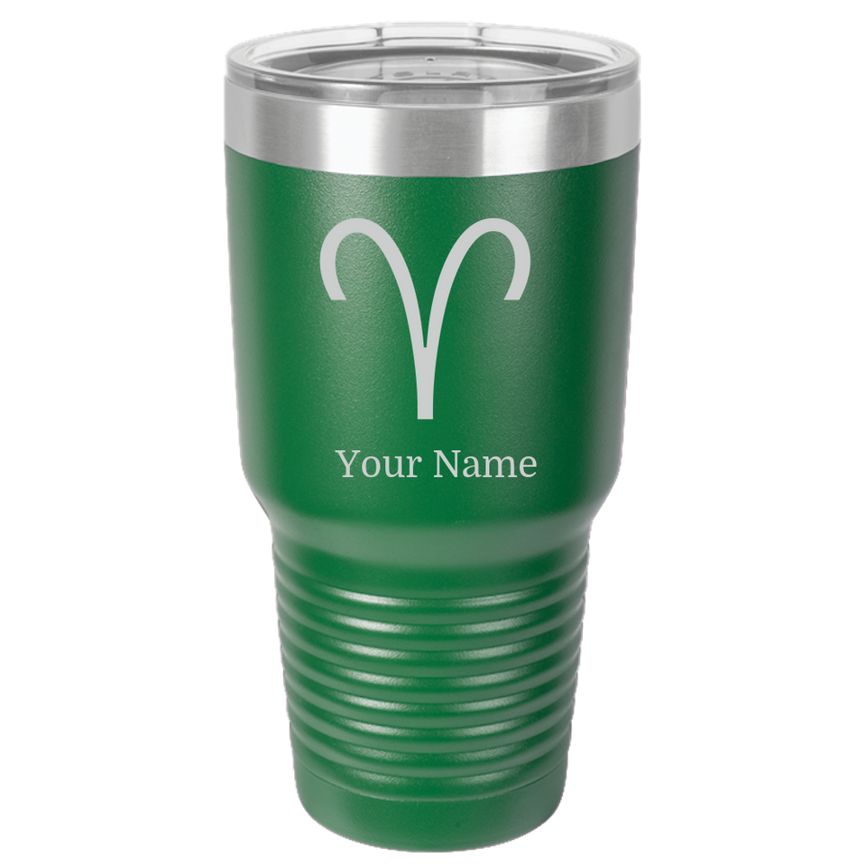 Zodiac Aries Sign Tumbler Coffee Mug