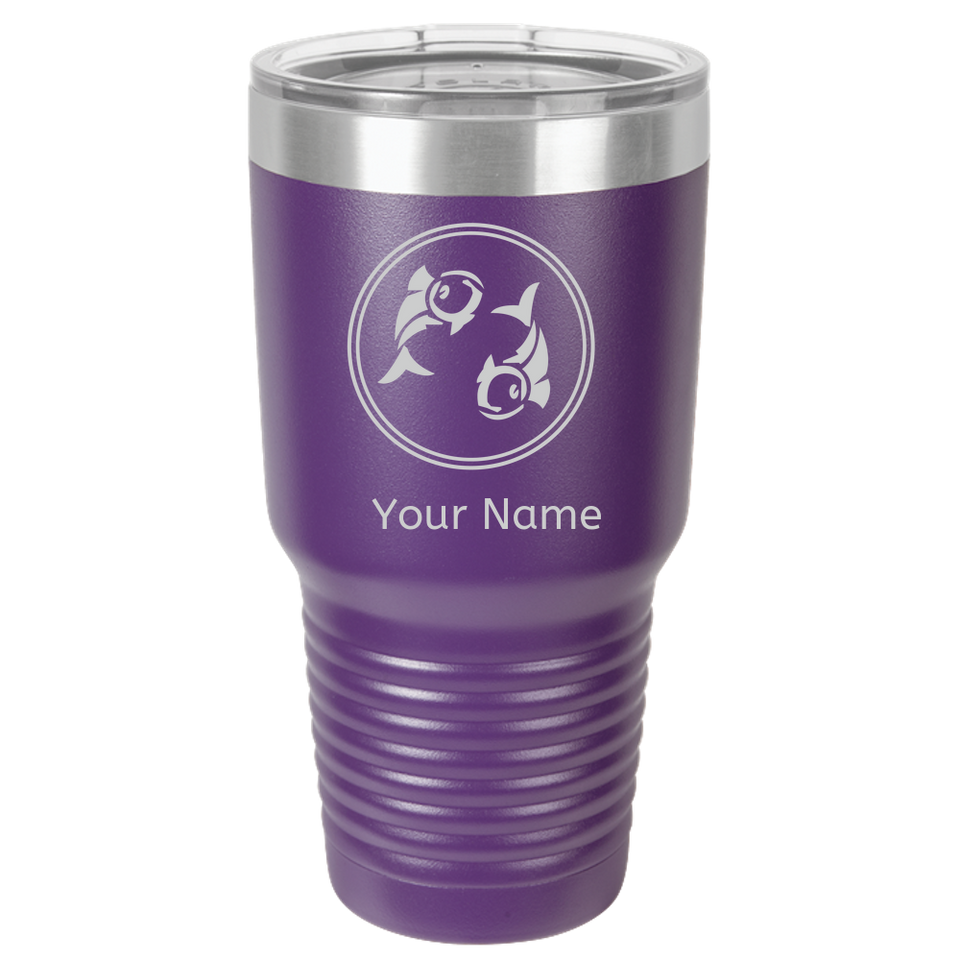 Pisces Coffee Mug Tumbler. Personalized Gift For Zodiac -Horoscope Pisces