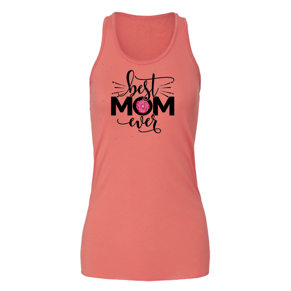 Bella Flowy Tank Best Mom Ever