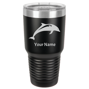 Tumbler Coffee Cup Dolphin