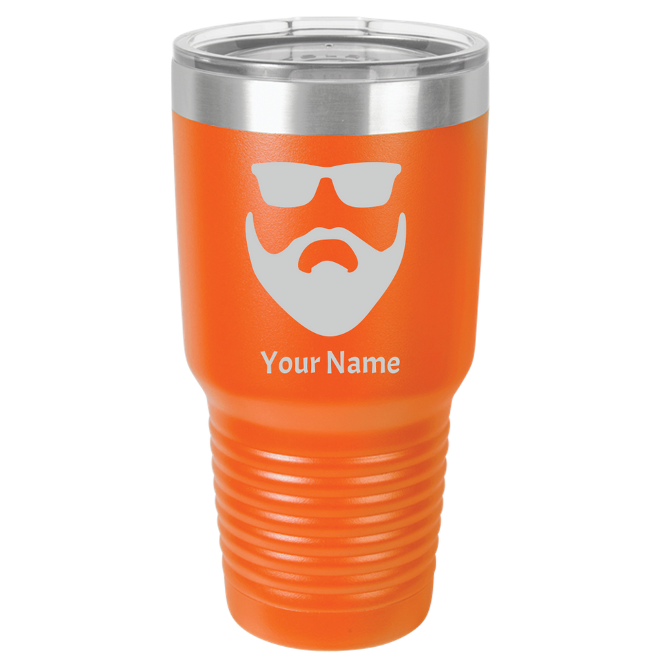 Tumbler Coffee Mug Beard