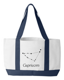 Zodiac Capricorn Constellation Tote Bag