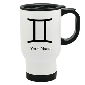 Zodiac Horoscope Gemini Travel Mug