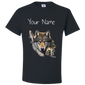 wolf T-shirt algarve online shop black