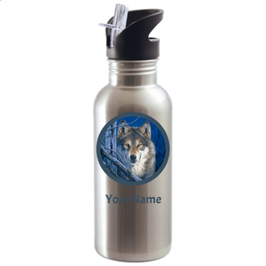 Wolf Water Bottle