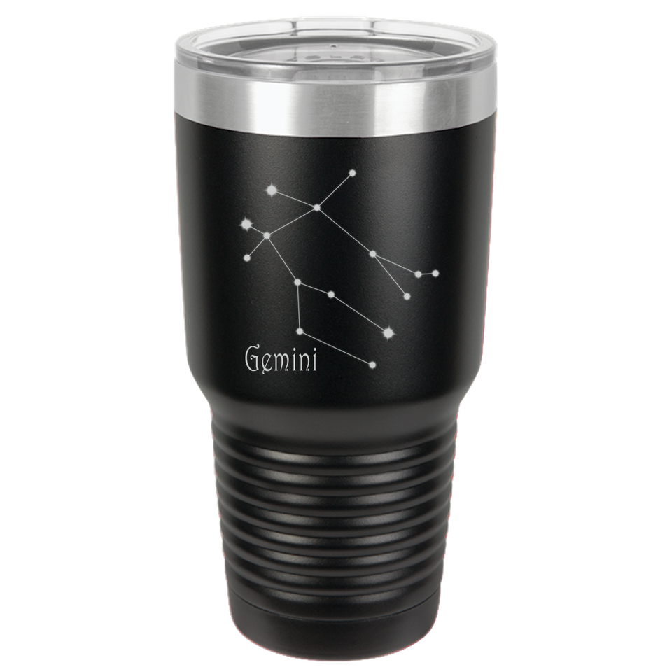 Gemini Star Sign Horoscope Tumbler Coffee Mug