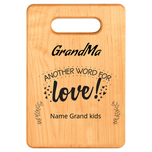personalized Grandma Cutting board Algarve Online shop