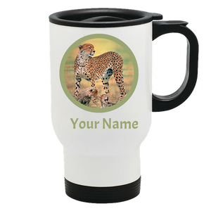 travel mug  Cheetah algarve online shop
