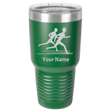 Tumbler Coffee Cup Running