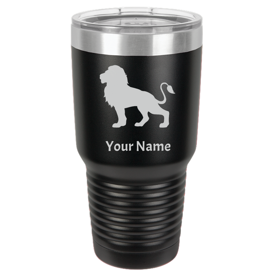Tumbler Coffee Mug Lion