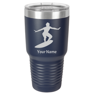 Tumbler Coffee Cup Surfing