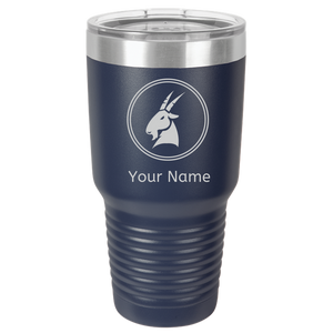 Capricorn Coffee Mug Tumbler. Personalized Cup For Zodiac - Horoscope Capricorn.