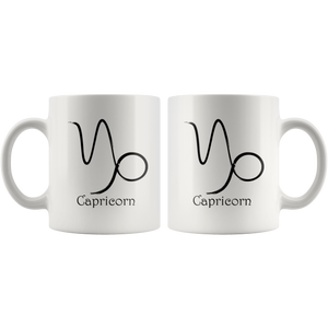 Zodiac Capricorn Ceramic Coffee Mug