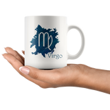 Zodiac Virgo Ceramic Coffee Mug