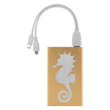 Power Bank Portable Phone Charger. Sea Horse