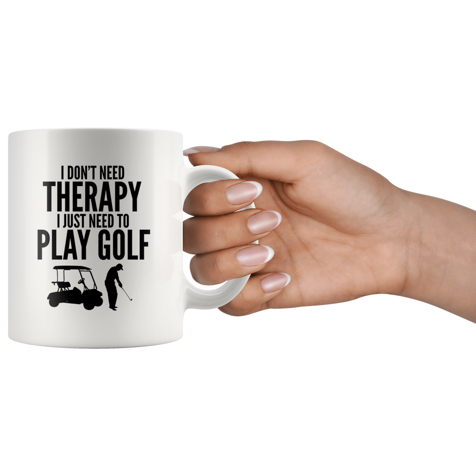 Golf Mug 11 oz Ceramic