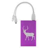 Power Bank Portable Phone Charger. Deer