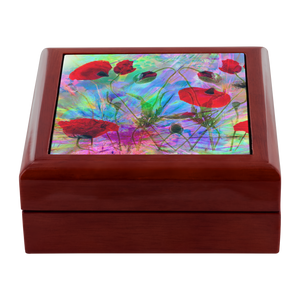 Color Full Poppie Jewelry Box