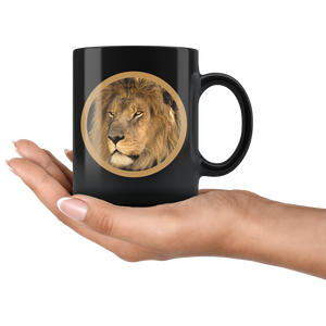 lion coffee cup