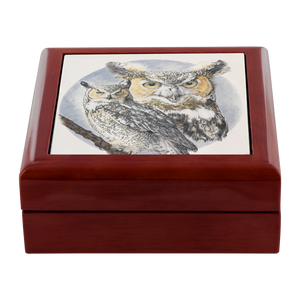Owls Jewelry Box