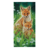 Beach Towel - Foxes - Fresh Breeze