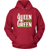 hoodie golf red queen of the green