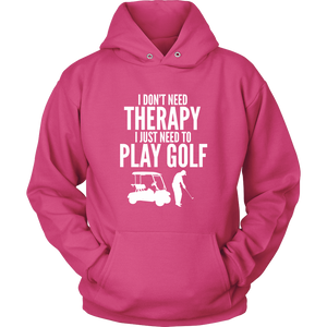Golf Hoodie Therapy