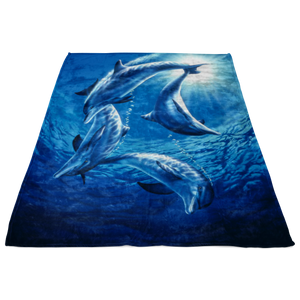 Dolphin Blanket TL