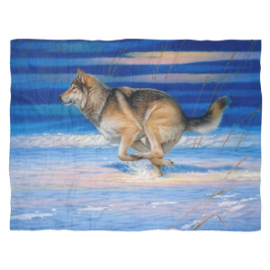 wolf blanket large algarve online shop.com