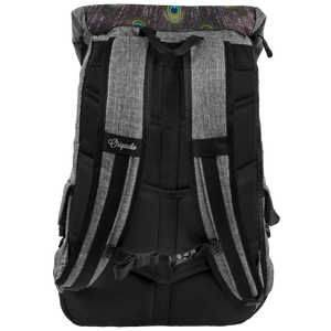 Peacock Backpack For Traveling