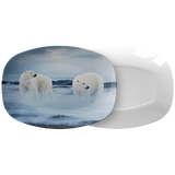 Polar Bears Serving Platter