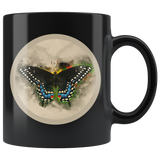 Butterfly Mug Swallowtail Black